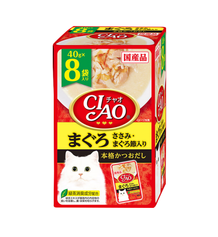 챠오파우치 - 참치&닭가슴살&참치포 8P