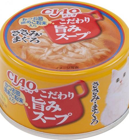 이나바 챠오 우마미(맛있는) 스프캔 - 닭가슴살&참치
