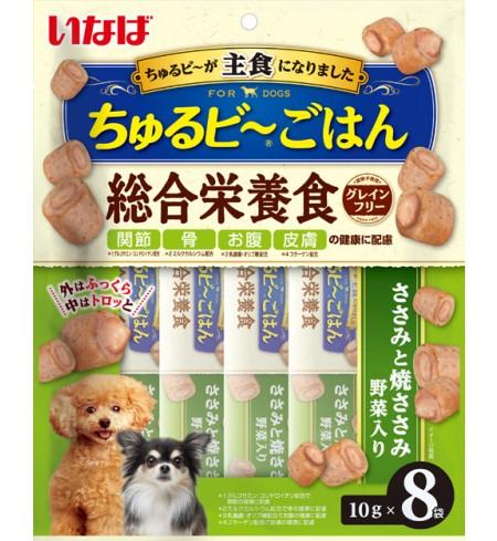 [강아지용] 이나바 츄르비 고항 - 닭가슴살&채소맛 (관절/뼈/장/피부 건강에 도움)